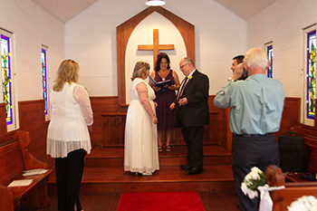 Marry Me Marilyn married Brenda from England & Gerry Irish born at St Margaret's Chapel Surfers Gold Coast