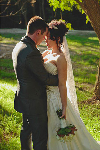 Candice & Richard Bundaleer Rainforest Gardens Wedding at  Brookfield Brisbane with Marry Me Marily as their Celebrant