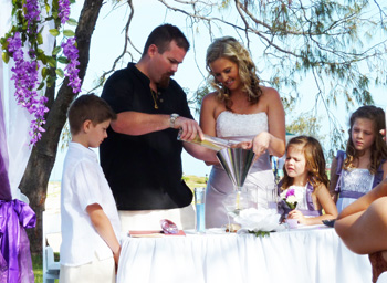 Sand Ceremony And Candle Weddings Wedding Celebrant