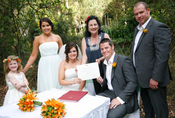 Marry Me Marilyn_Deneille & Scott Currumbin Wildlife Sanctuary Wedding on the Southern Gold Coast