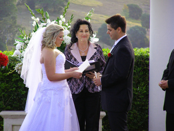 Kirsty & Vlad were married by Marry Me Marilyn at Glengariff Historic Estate & Winery in the Dayboro Valley north of Brisbane.