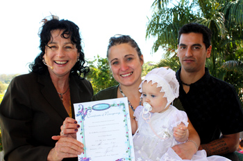 Keaorah Jean Low's Naming Ceremony Tanah Mera Logan in South East Queensland