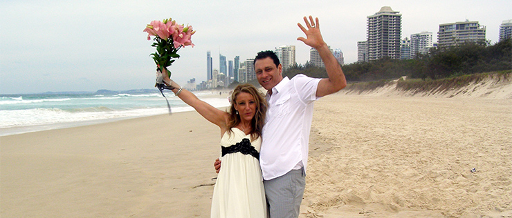 Marry Me Marilyn Gold Coast Renewal of Vows