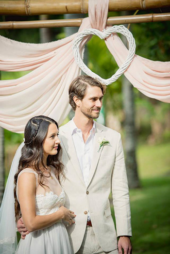 Marry Me Marilyn Wedding Mara & Adam married at the Manor House Byron Bay Hinterland