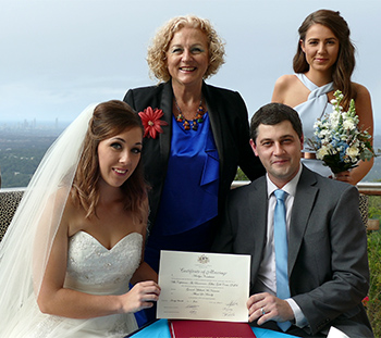 Marry Me Marilyn Alison & Gerard Wedding Wings Hinterland Retreat The Panorama Tallai Gold Coast