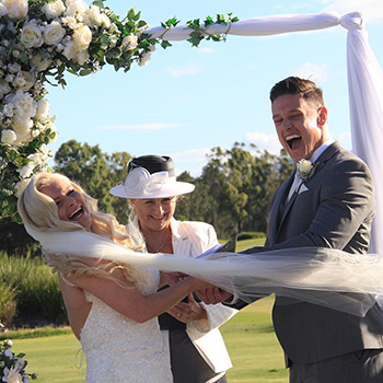 Marry Me Marilyn_Camilla & Lachlan Wedding Links Hope Island Gold Coast