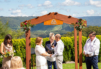 Marry Me Marilyn Caz & Robin Wedding Grand Maleny House Maleny Sunshine Coast
