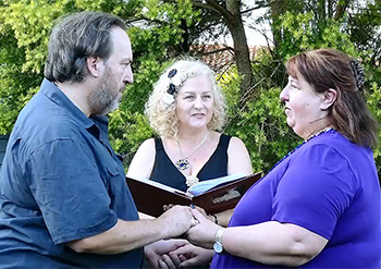 Marry Me Marilyn John & Sally Renewal of Vows 25th Wedding Anniversary Isle of Capri, Gold Coast