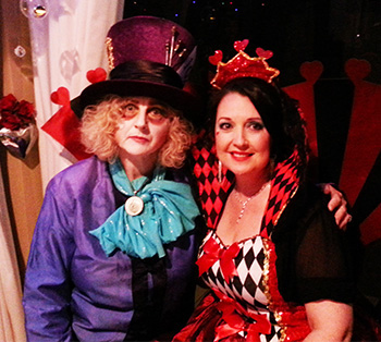 Marry Me Marilyn Michele & Nigel Mad Hatters Tea Party Renewal of Vows Monterey Keys Gold Coast