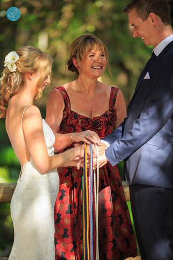 Marry Me Marilyn Wedding Celebrant married Rachel and Cameron at Boomerang Farm in Mudgeeraba on the Gold Coast
