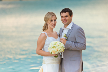 Nadia & Luke's Wedding at Len Wort Park Currumbin with Marry Me Marilyn Gold Coast Celebrant