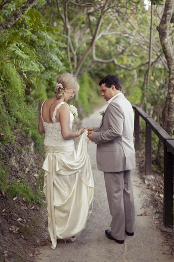 Nadia & Luke's Wedding at Len Wort Park Currumbin with Marry Me Marilyn Gold Coast Celebrant Photo Courtesy of Corne & Lara Photography