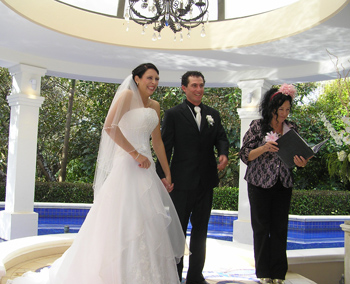 Marry Me Marilyn married Nicole & Craig at the Avalon Wedding Gardens North Tamborine Mountain Hinterland Gold Coast South East QLD