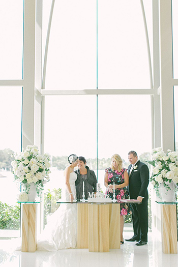 Candle Ceremony with Marry Me Marilyn_Sarah & Greg married at the beautiful Sanctuary Cove Chapel Hyatt Regency