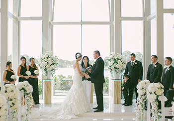 Sarah & Greg married by Marry me Marilyn at the beautiful Sanctuary Cove Chapel Hyatt Regency