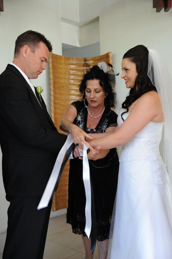 Marry Me Marilyn Handfasting Ceremony Santai at Casuarina Northern NSW